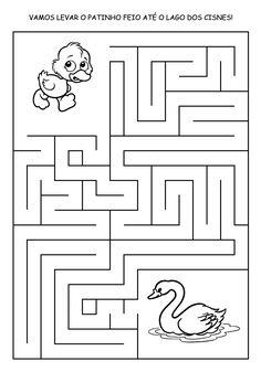 patinho+feio+labirinto.png (1115×1596)