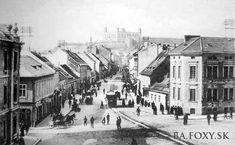 Bratislava, Old Street, Nostalgia, Arch, Louvre, Street View, Building, Squares, Travel