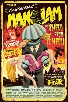 MANCLAM B-Movie Poster by Huwman.deviantart.com on @deviantART