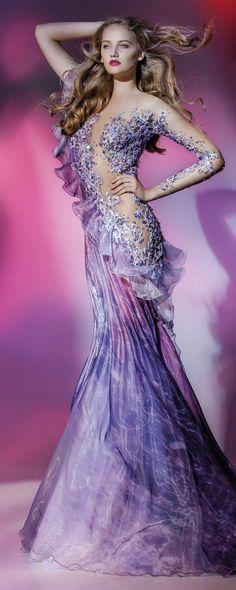 "Blanka Matragi ""Elements: Air"", Collection 2017 - Haute couture - [""Elements: Air"", 2017 collection->6455] - http://fr.orientpalms.com/Blanka-Matragi-6455"
