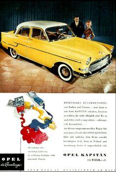 Opel Kapitän 1950s