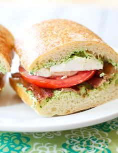 ... Bacon Tomato and Basil Sandwiches | Recipe | Basil, Bacon and Tomatoes