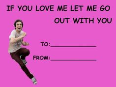 Panic at the Disco Valentines Card