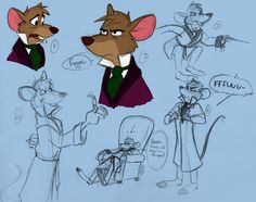 Basil Sketches by ~Poe-Raven on deviantART