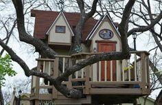 fabulous tree houses | Fabulous Tree Play-House
