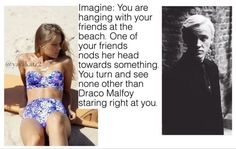 Imagine Draco Malfoy boyfriend husband crush love flirt Tom Felton Harry Potter…