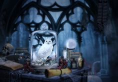 Hogwarts 's room by MelieMelusine on DeviantArt