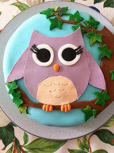 Uil taart