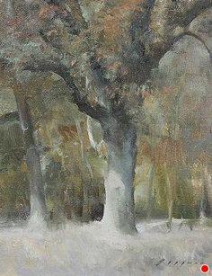 Oak Study by Simon Addyman Oil ~ x Contemporary Landscape, Landscape Art, Landscape Paintings, Tree Paintings, Watercolor Trees, Watercolor Artists, Winter Art, Pastel Art, London Art