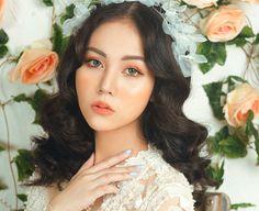 -Cô dâu trang điểm phong cách thời thượng với tông cam-  http://lamdep.win/co-dau-trang-diem-phong-cach-thoi-thuong-voi-tong-cam/