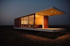 Prefab lodge in South Africa!