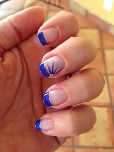 Royal blue french
