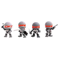 Loyal Subjects Teenage Mutant Ninja Turtles Battle Damage Exclusive Figure Set