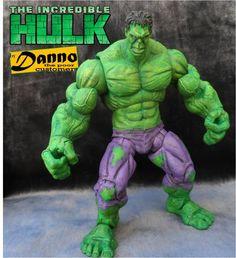 The Incredible Hulk Avengers custom action figure from the Marvel Legends series using ML planet hulk; walmart avengers hulk as the base, created by DannoCustom. Planet Hulk, Hulk Avengers, Marvel Legends Series, Custom Action Figures, Incredible Hulk, Marvel Movies, The Incredibles, Figs, Respect