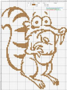 Ardilla+Era+de+Hielo-+Ice+Age+-+Cross+Stitch+Punto+de+cruz.jpg (1177×1569)