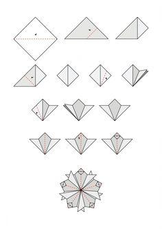 Free tea bag folding diagrams | cardmakingandpapercraft.com