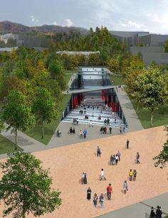 Architecture Company, Public Architecture, Architecture Panel, Concept Architecture, Landscape Architecture, Architecture Design, Urban Landscape, Landscape Design, Urban Design Concept