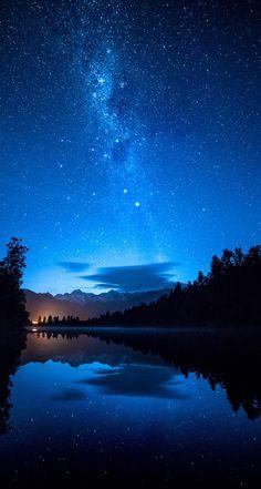 #nature #inspired #photography #impressive #wallpaper #desktop #background #milky #way #stars #night #reflections