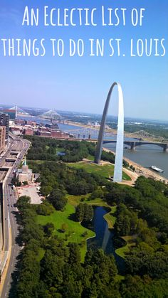 St. Louis is a surprisingly awesome place to visit. Check out this post to learn about 11 eclectic things to do in St. Louis.