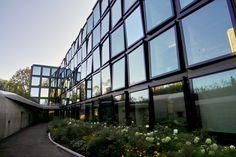 herzog de meuron helvetia west wing extension switzerland designboom