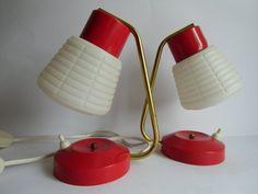 2 Tischlampen - Lampe 60er Jahre von MaDütt auf DaWanda.com