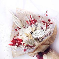 Купить Зимний букет. Новогодний подарок - рождество, хлопок, подарок на новый год, новогодний подарок, сухоцветы