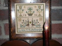 Lydia Eichelberger 1836