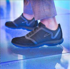 Nebula Black on feet