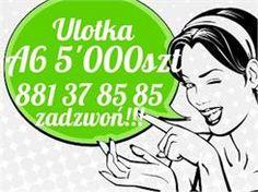 Ulotki A6 5000 szt. - Ceny i opinie na Ceneo.pl