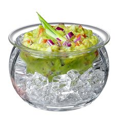 The Prodyne Dips on Ice Bowl helps keep your dips, sauces, condiments, and snacks chilled and tasty. A high quality acrylic upper level keeps your food separated from the lower ice bowl. This piece adds a bit of flair to any occasion. Ice Bowl, Ice Cream Bowl, House Salad, Serving Bowl Set, Cold Ice, Salad Bowls, Safe Food, Dinnerware, Dips