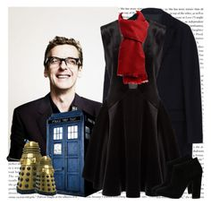 """""""Peter Capaldi - Doctor Who"""" by georgina-m ❤ liked on Polyvore featuring MSGM, DKNY, Giuseppe Zanotti, women's clothing, women's fashion, women, female, woman, misses and juniors"""