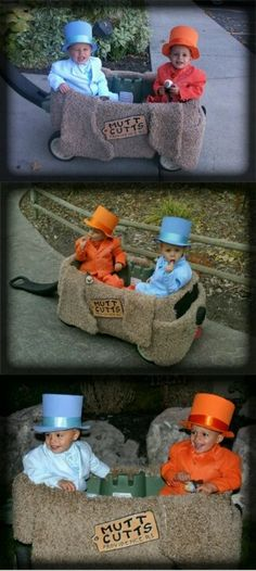 Halloween brothers costumes. Adorable.