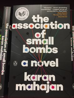 Book Cover Art We Love: The Association of Small Bombs by Karan Mahajan