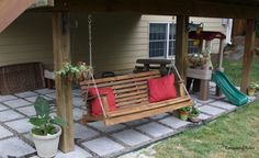 Doing remodeling space under deck will help you see how much available space you've got and it is also going to help you design the entire place. You can construct and remodel space under deck from the awesome design ideas that we have serve here. Under Deck Landscaping, Patio Under Decks, Decks And Porches, Backyard Patio, Backyard Ideas, Landscaping Tips, Pool Ideas, Deck Makeover, Backyard Makeover