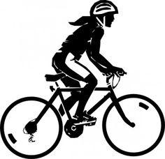 Sports - Bicycles & Cycling - bike rider girl w helmet - Public Domain Clip Art Bicycle Race, Bicycle Girl, Bicycle Safety, Mountain Biking Women, Women's Cycling Jersey, Cycling Jerseys, Road Cycling, Bike Rider, Bike Art