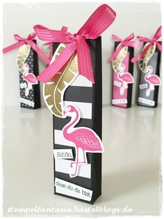 Stampin Up_Gastgeschenk_Goodie_Give Away_Katalogparty_Pop of Paradise_Flamingo_Amicelli_Verpackung_Tuete_Stempelfantasie_2