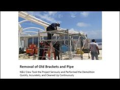 Nance Underwood Rigging News- Cruise ship canopy refurbishment