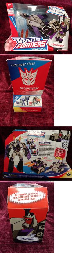 Transformers and Robots 83732: Transformers Animated Blitzwing Triple Changer Voyager Class (Hasbro, 2008) Vhtf -> BUY IT NOW ONLY: $48.88 on eBay!