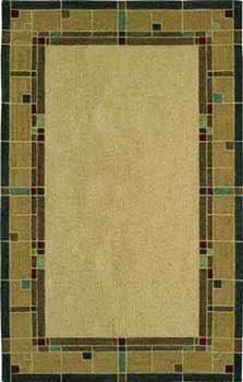 Glass-Block-Amber Craftsman Rugs