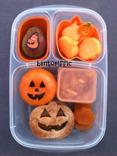 Healthy Halloween School Lunch
