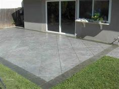 saw cut patio design step out onto your new patio