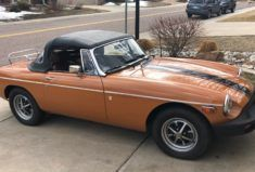 Supercharged 1976 Mg Mgb Roadster Mg Mgb Roadsters Eaton Supercharger