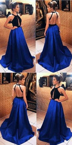 Long Black Velvet Hater Backless Prom Dresses 2018 Satin Evening Gowns, Shop plus-sized prom dresses for curvy figures and plus-size party dresses. Ball gowns for prom in plus sizes and short plus-sized prom dresses for Navy Blue Prom Dresses, Open Back Prom Dresses, Blue Evening Dresses, Prom Dresses 2018, Long Evening Gowns, Nice Dresses, Formal Dresses, Dress Long, Long Black Dresses
