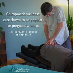 Chiropractic and pregnant women