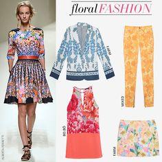 Compre moda com conteúdo, www.oqvestir.com.br #Fashion #Summer #Floral #Flowers #AlbertaFerratti #Shop