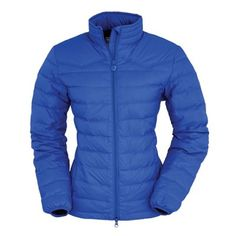 Outback Trading Ladies Snow Canyon Jacket ~ down filled, with a two way zipper, hip pockets, Western yoke and accent lining. It is packable into an inside pocket for easy toting.