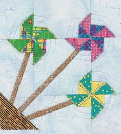 Sewing Crafts   Quilt Blocks Summer Pinwheels   Quilting Crafts — Country Woman Magazine