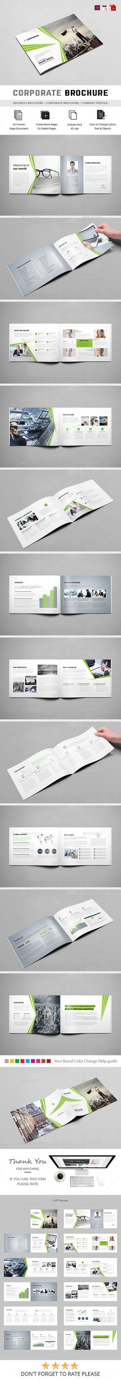 Free A Landscape Brochure Mockups Freebies Mockuptemplates