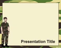 Military #PowerPoint #Template is an army PowerPoint #background for military schools or Army Reserve classes.