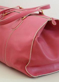 Kaufe meinen Artikel bei #Kleiderkreisel http://www.kleiderkreisel.de/damentaschen/handtaschen/137922175-original-pinker-schumacher-weekender-reisetasche-leder-blogger-fashion